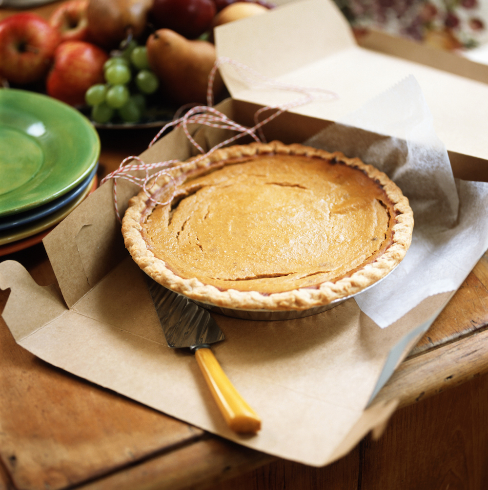 When You Fly With Pie, Use a Separate Bin at the Airport—Plus More TSA Rules for Thanksgiving Travel With Food