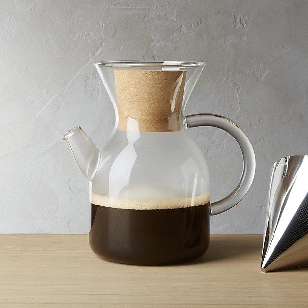 Evasolo Glass Pour-Over Coffee Maker