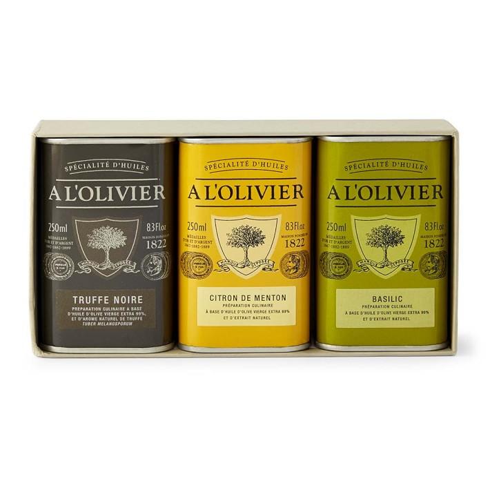 L'Olivier Flavor Infused Olive Oil Gift Crate