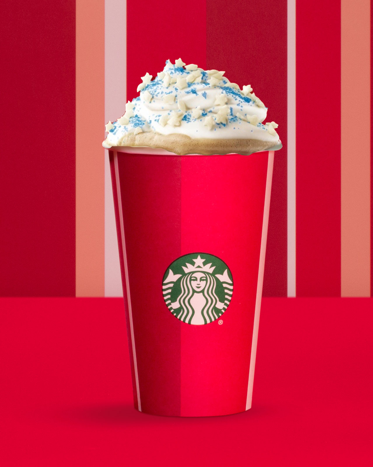Snowy Cheese Flavored Latte