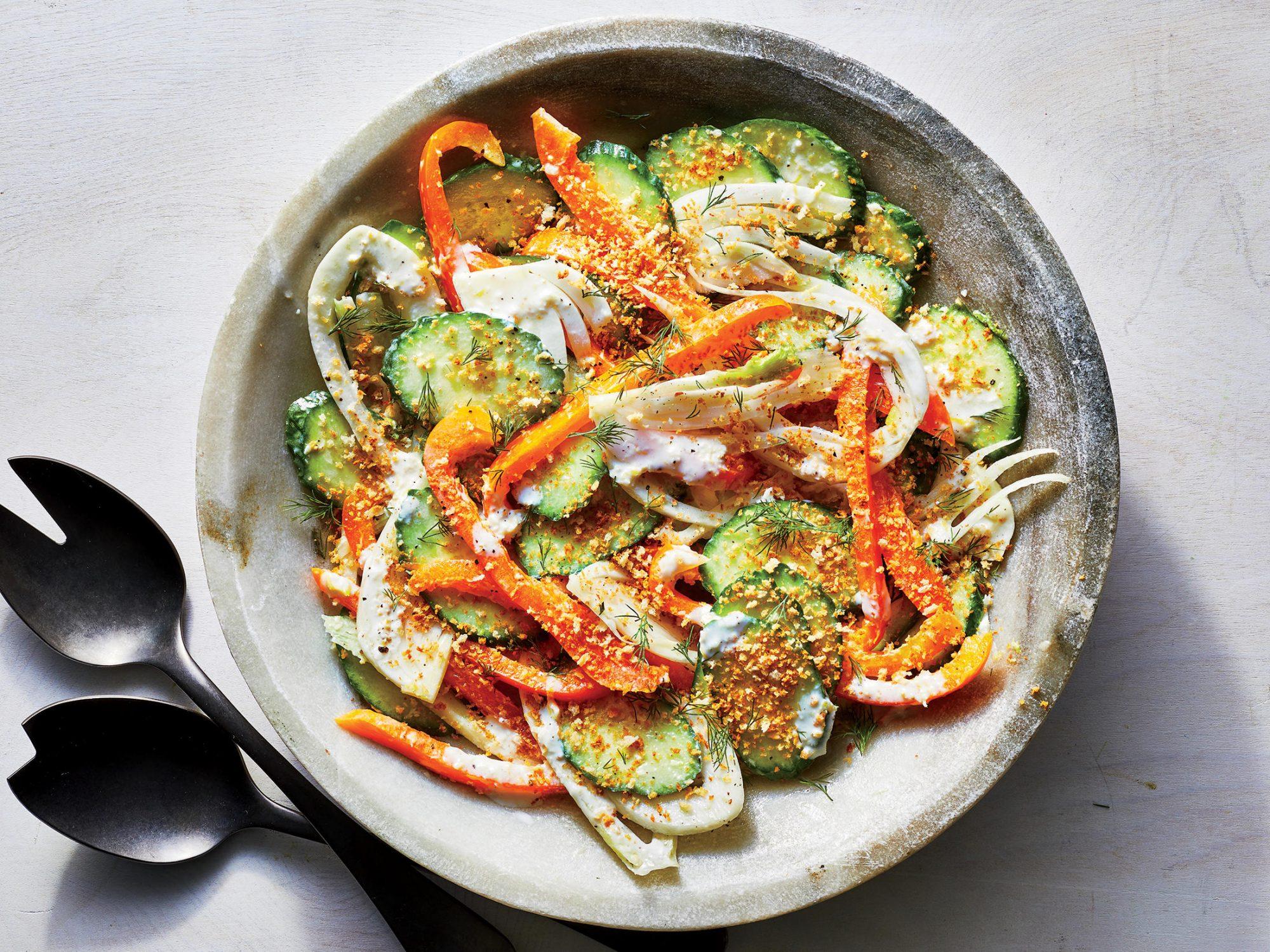 Cucumber-Fennel Salad