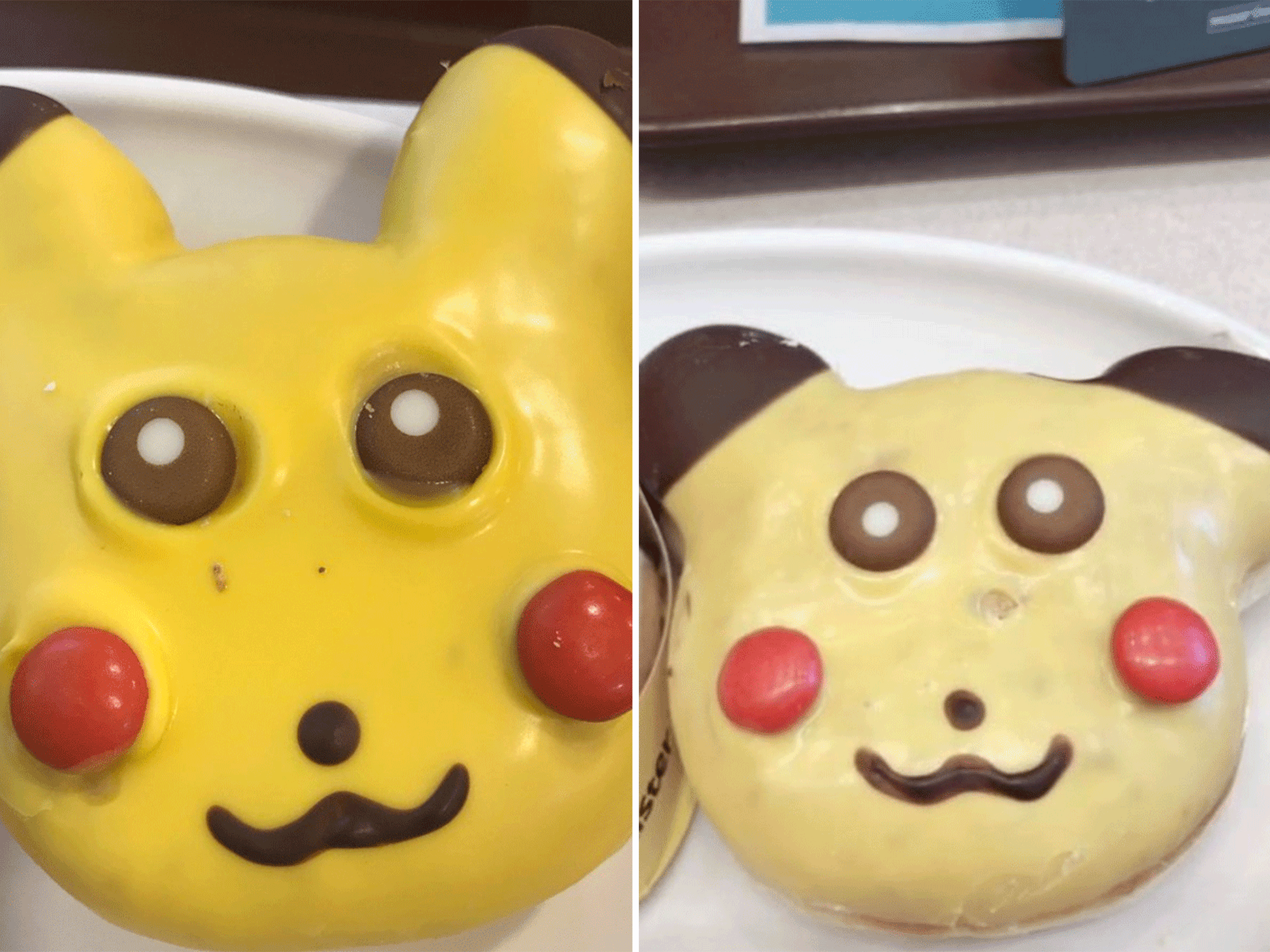 Pikachu Doughnuts Shelved for Being Too Creepy