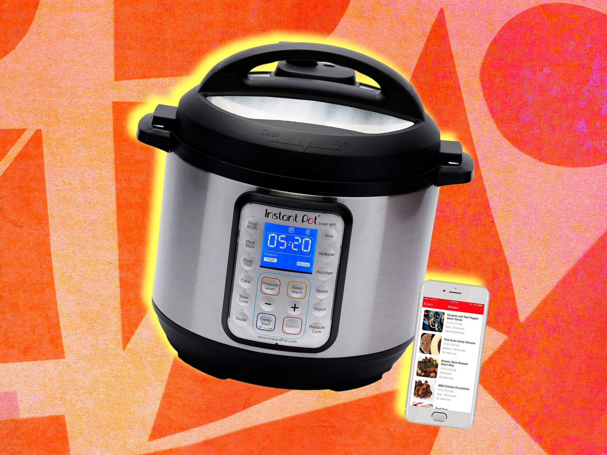 There's a New Instant Pot That Can Be Controlled From Your Phone