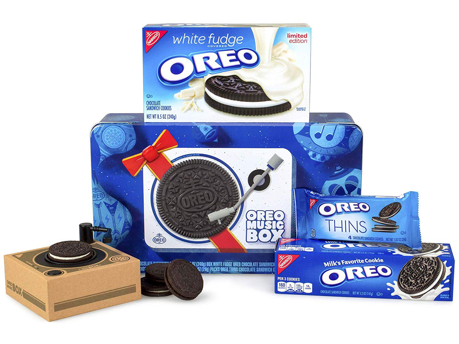 This Tiny Record Player Plays Oreo Cookies…Kinda