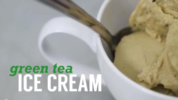 Matcha (Green Tea) Ice Cream
