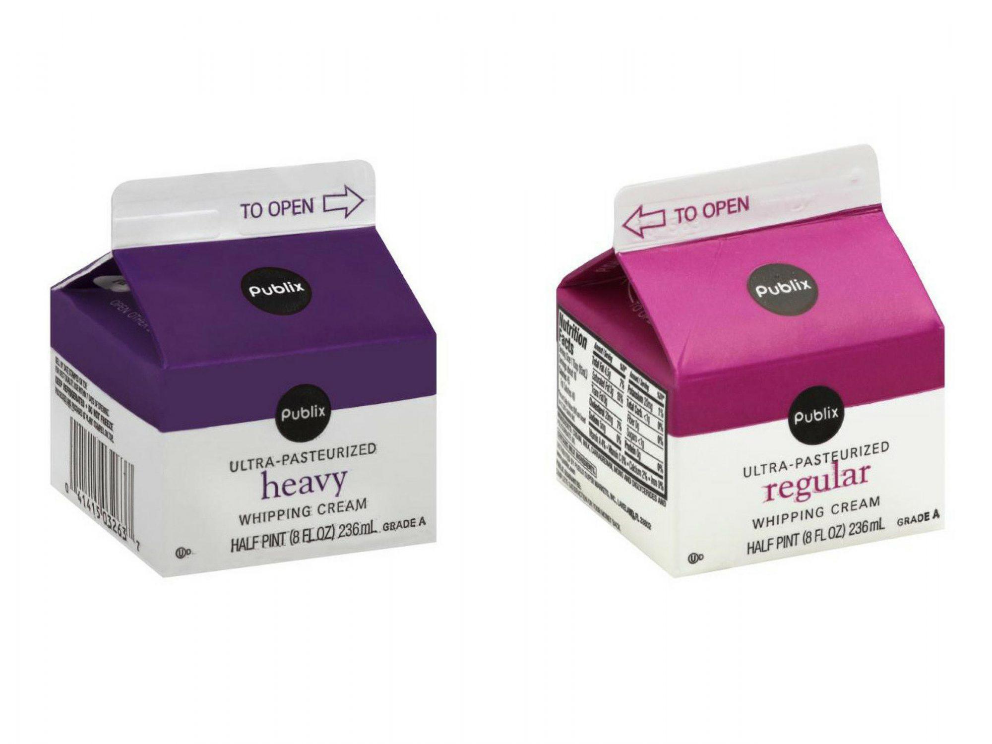 Heavy Cream vs. Whipping Cream - Cooking Light