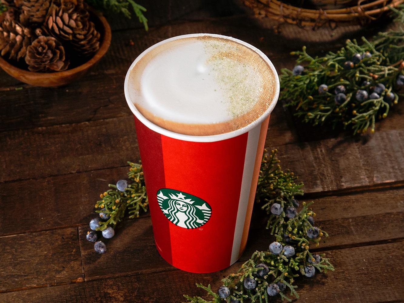 Starbucks Takes Juniper Lattes Nationwide This Winter
