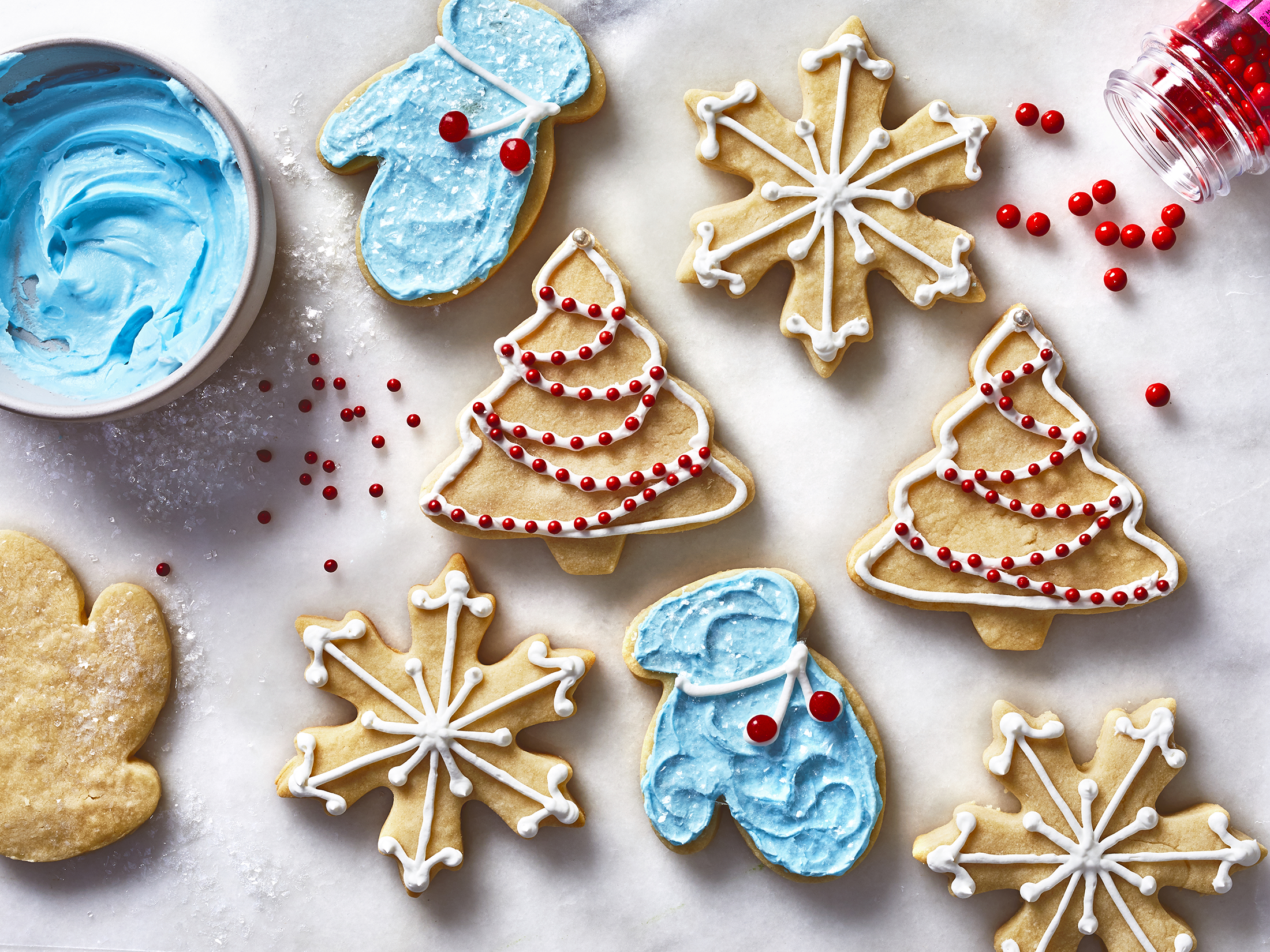 Our Best Cookies for Holiday Decorating