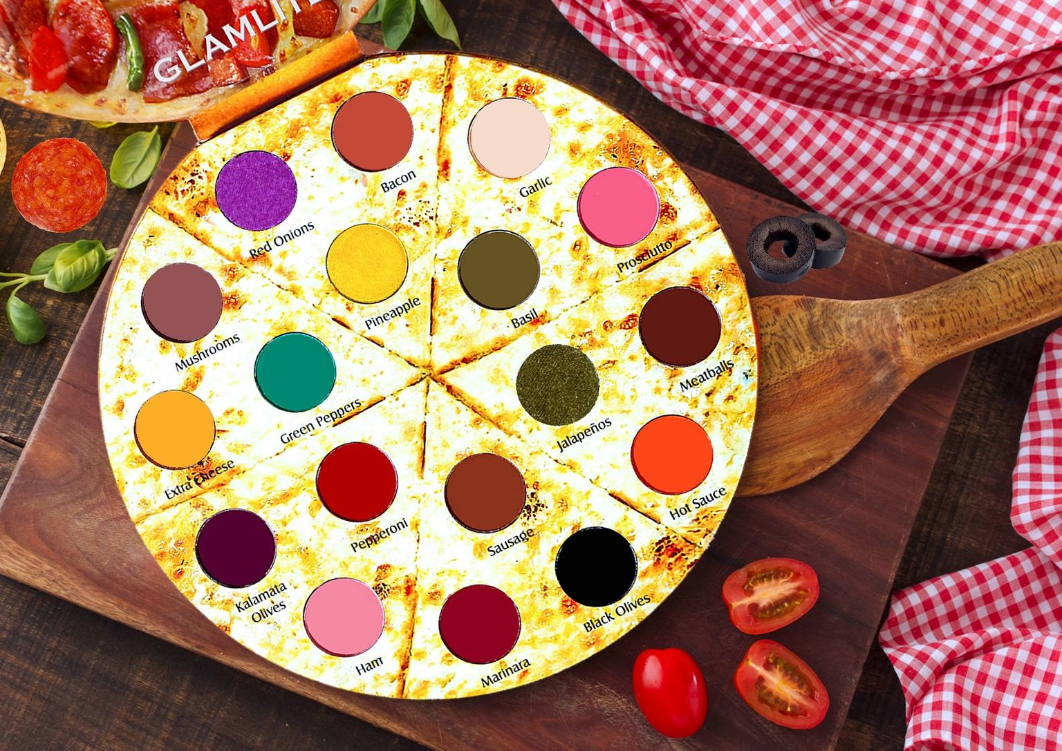 This Tiny Pizza Is Actually an Eyeshadow Palette