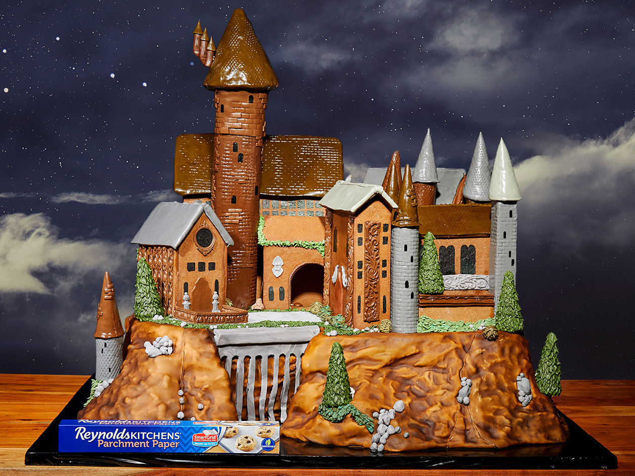 This Gingerbread Hogwarts Castle Is a Magical Feat of Cookie Construction