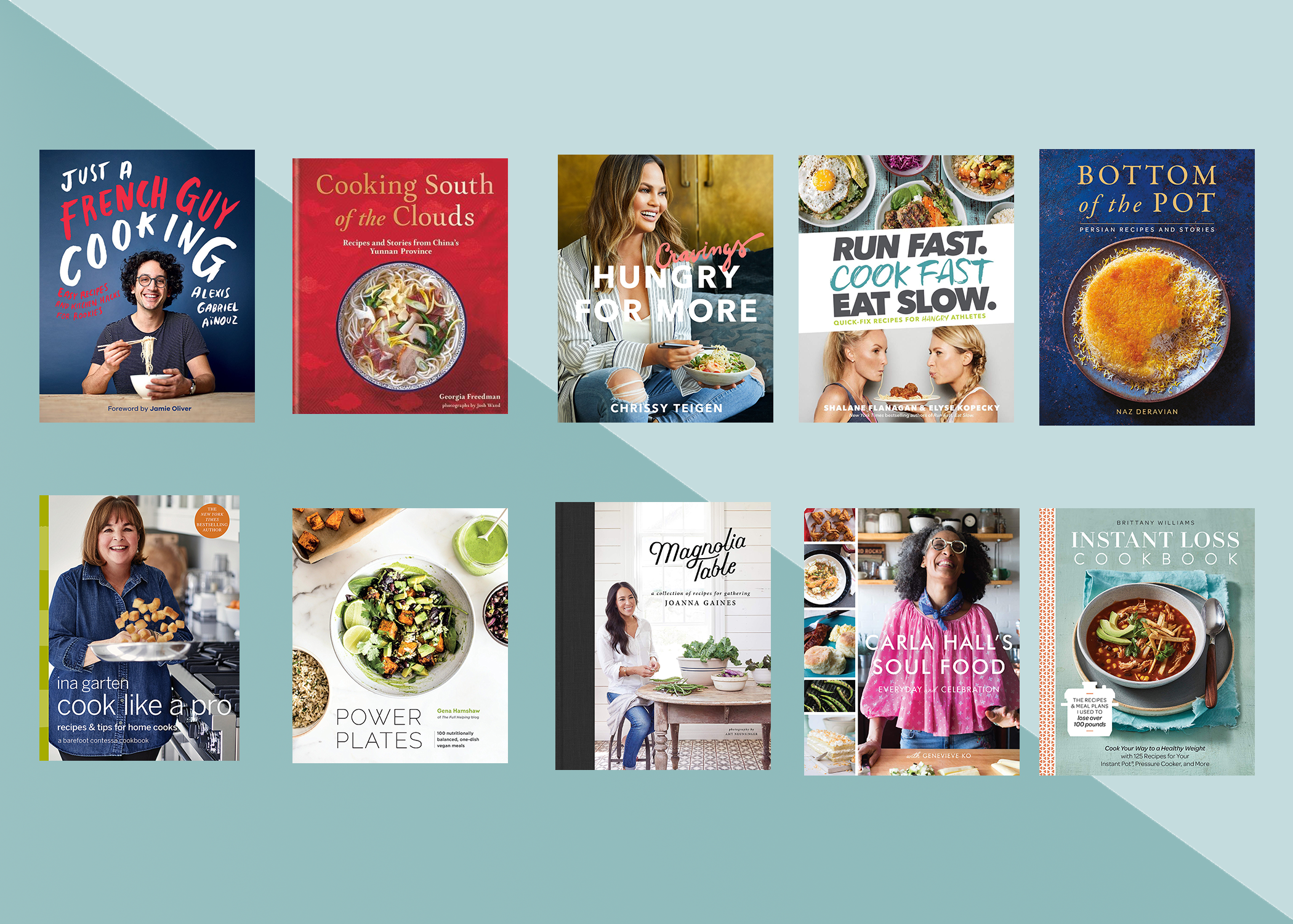 Our Favorite Cookbooks of 2018