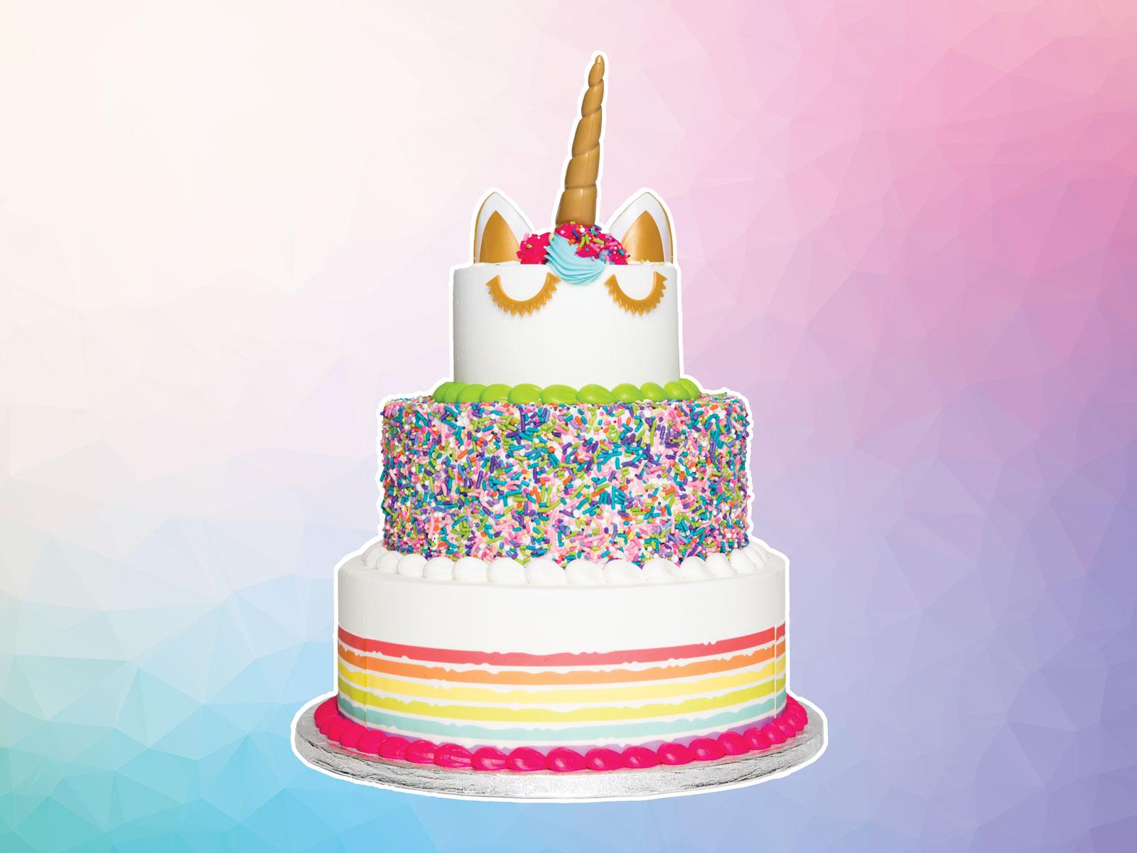 Sam's Club Unicorn Cake