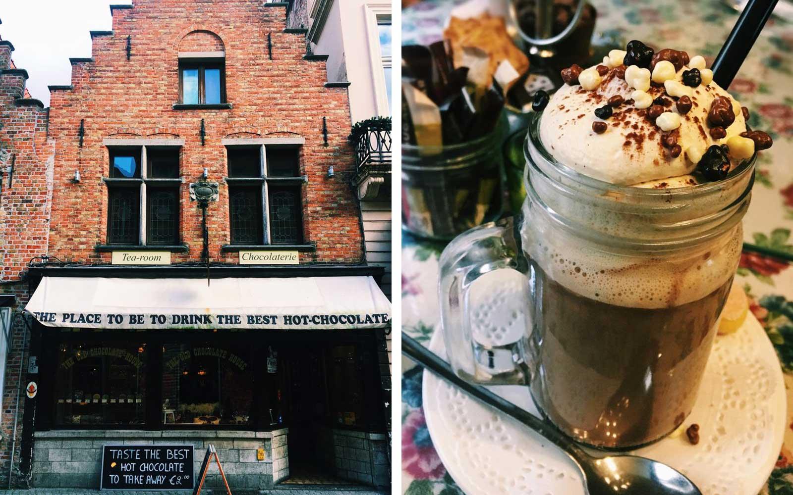 Best Hot Chocolate - Old Chocolate House, Belgium