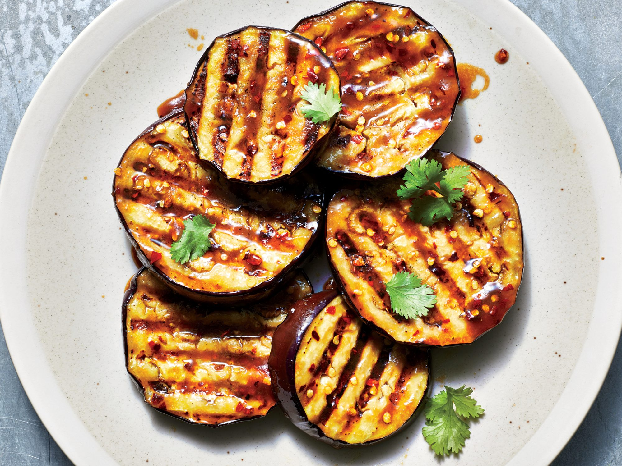 Miso-Glazed Eggplant Steaks