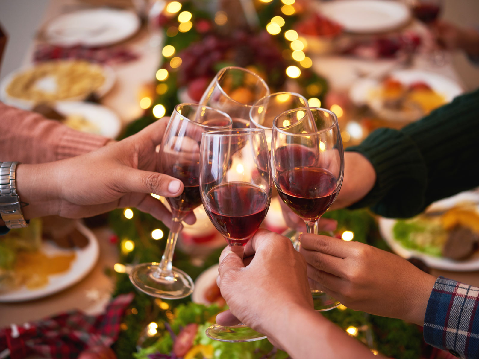 Here's How Much (More) We Drink During the Holidays