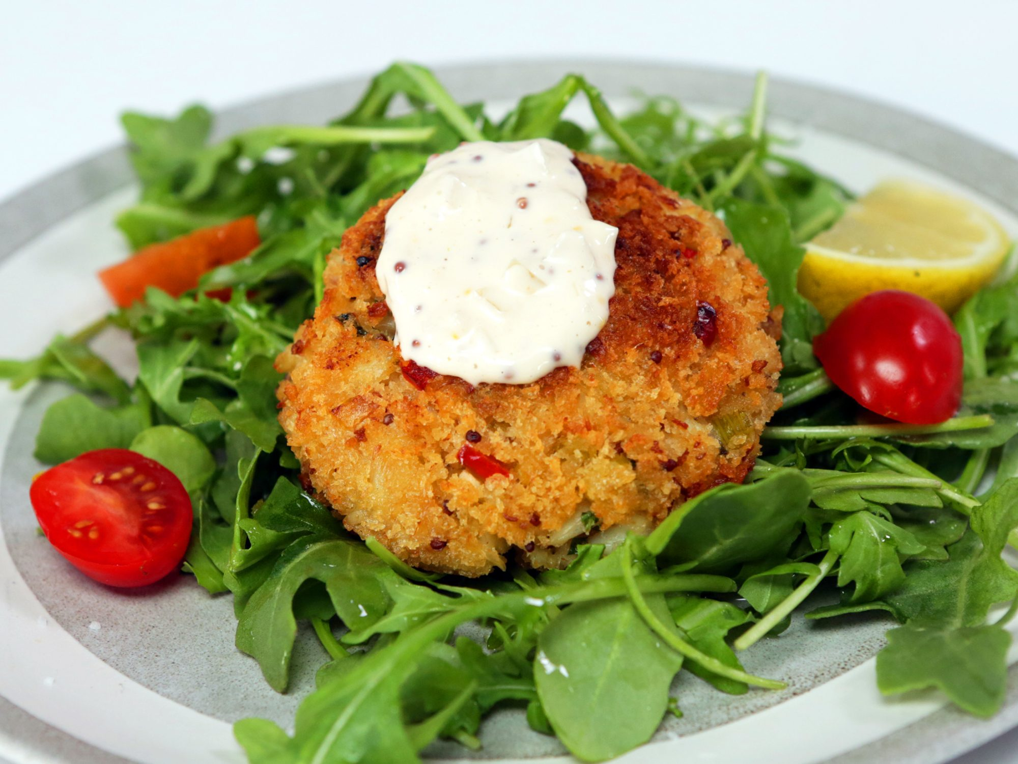 Perfect Crab Cakes image