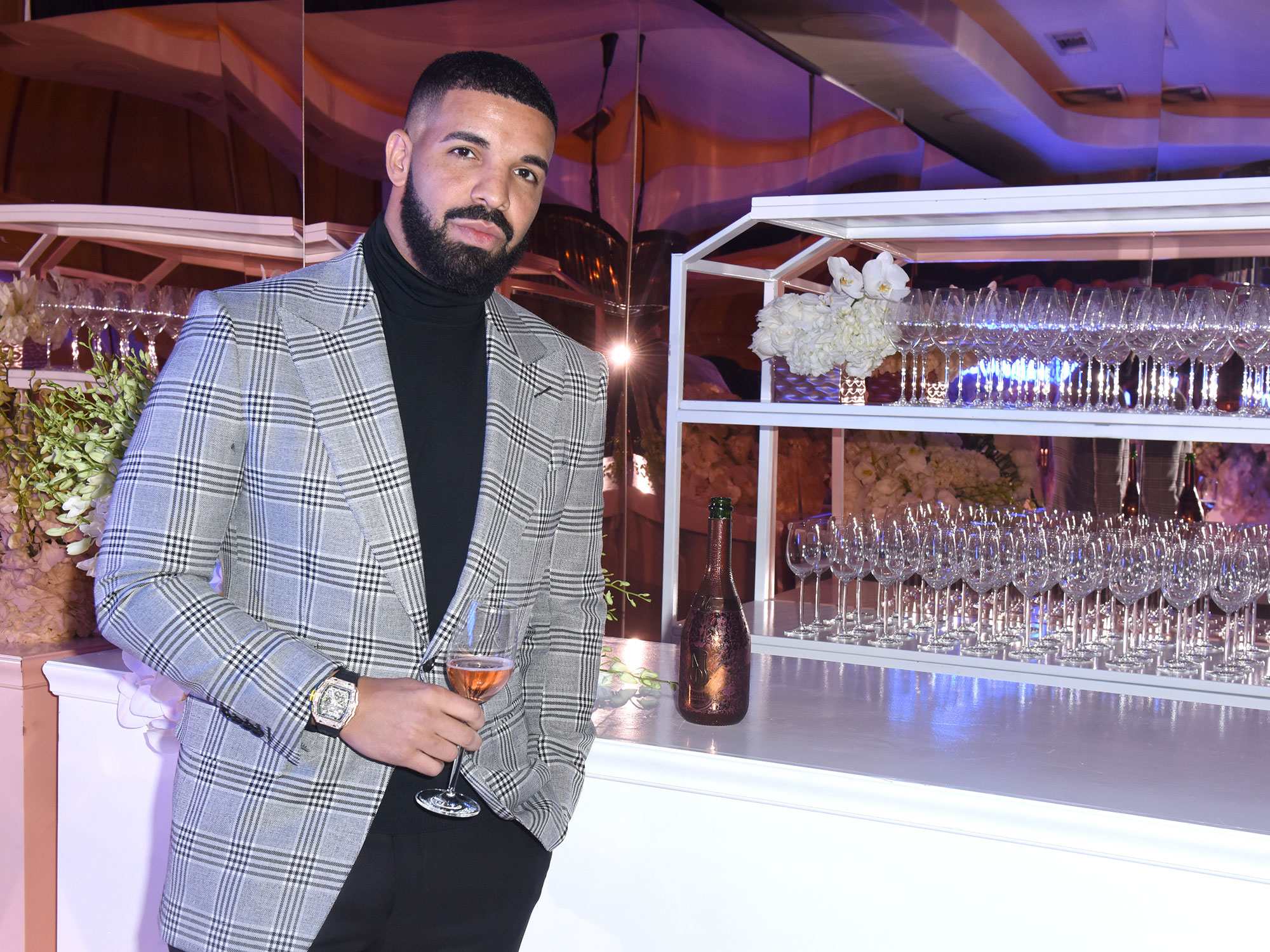 Champagne Papi Drake Makes His Own Champagne and It's $300