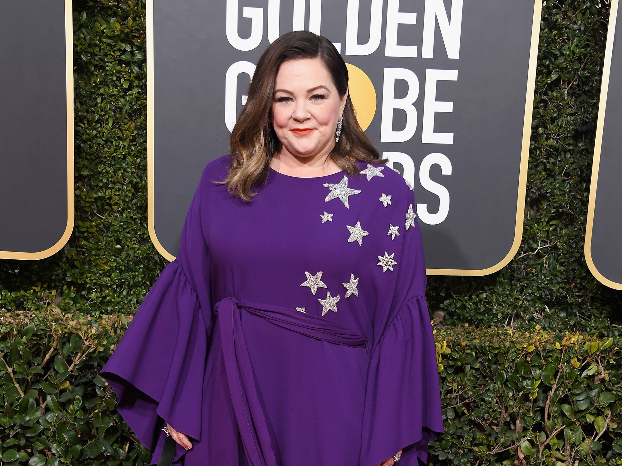 Melissa McCarthy Passed Out Ham Sandwiches at the Golden Globes
