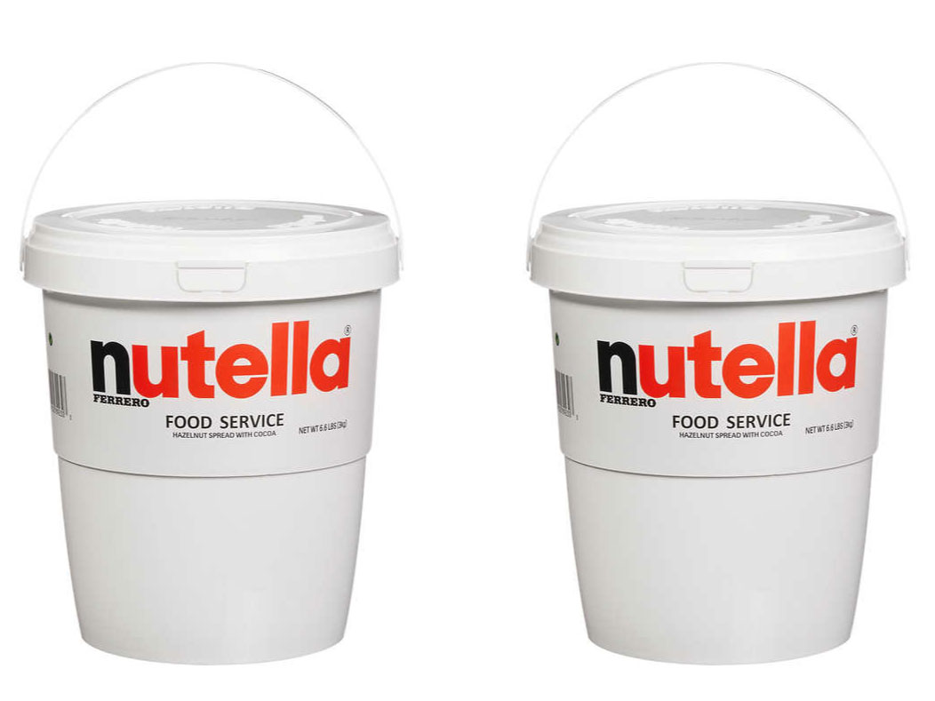 Costco Sells Giant 6.6-Pound Tubs of Nutella