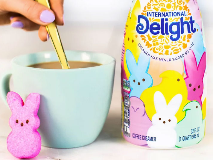 Peeps Creamer Is Here to Ruin Your Coffee This Easter