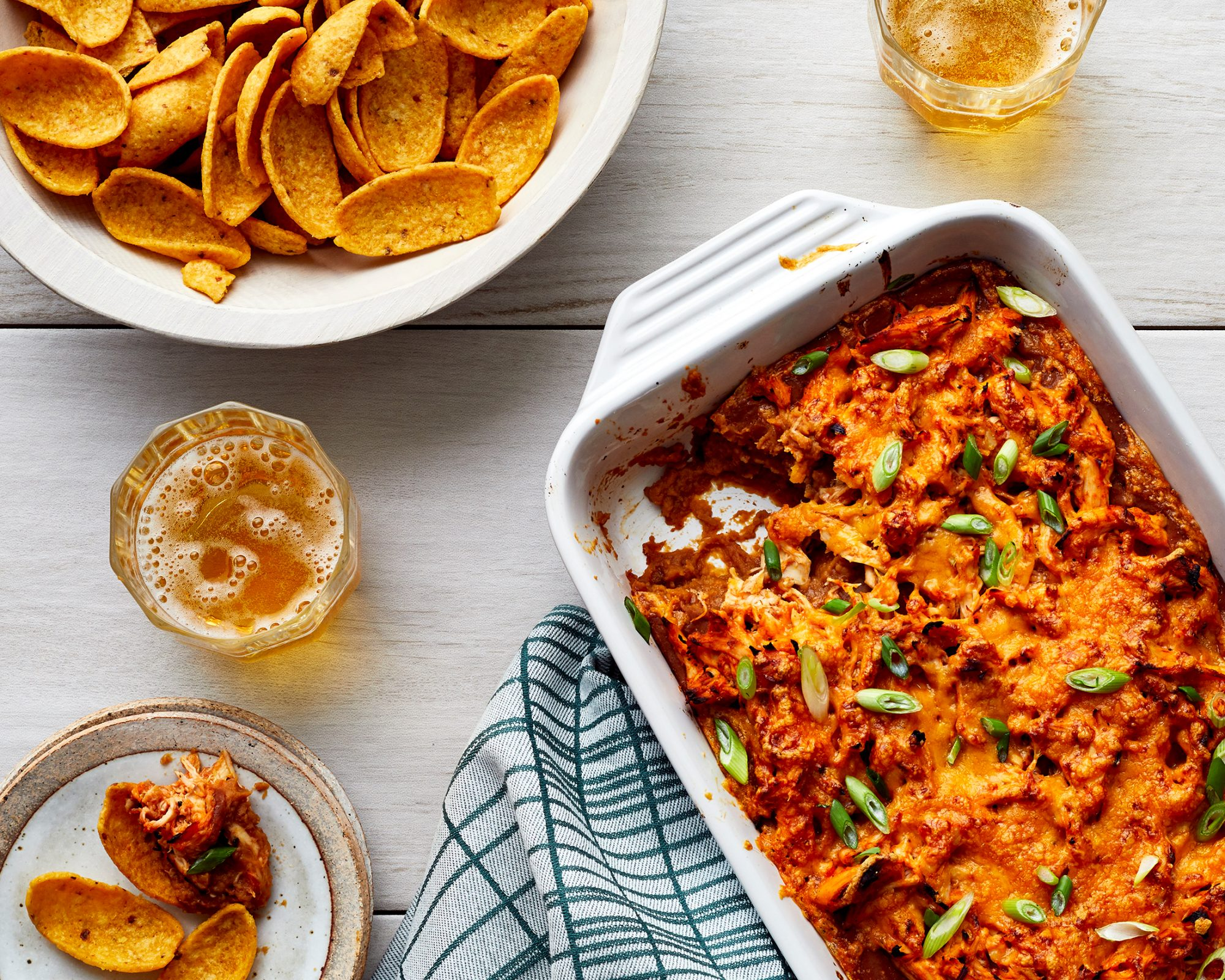 Super Duper BBQ Chicken Bean Dip image