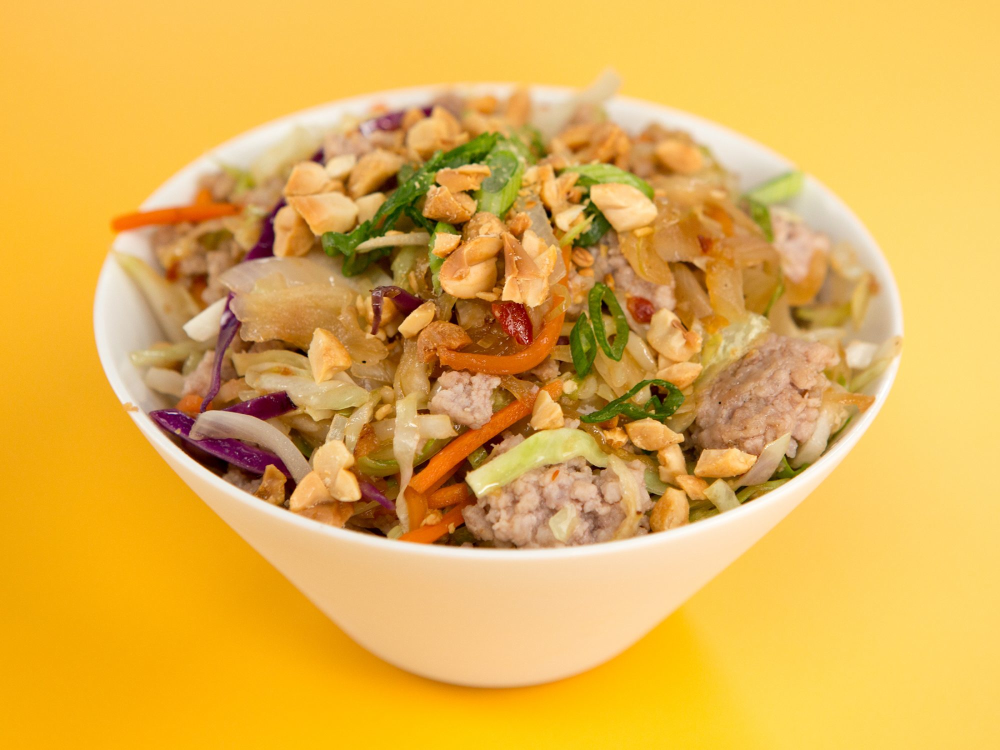 Keto Egg Roll Bowl image