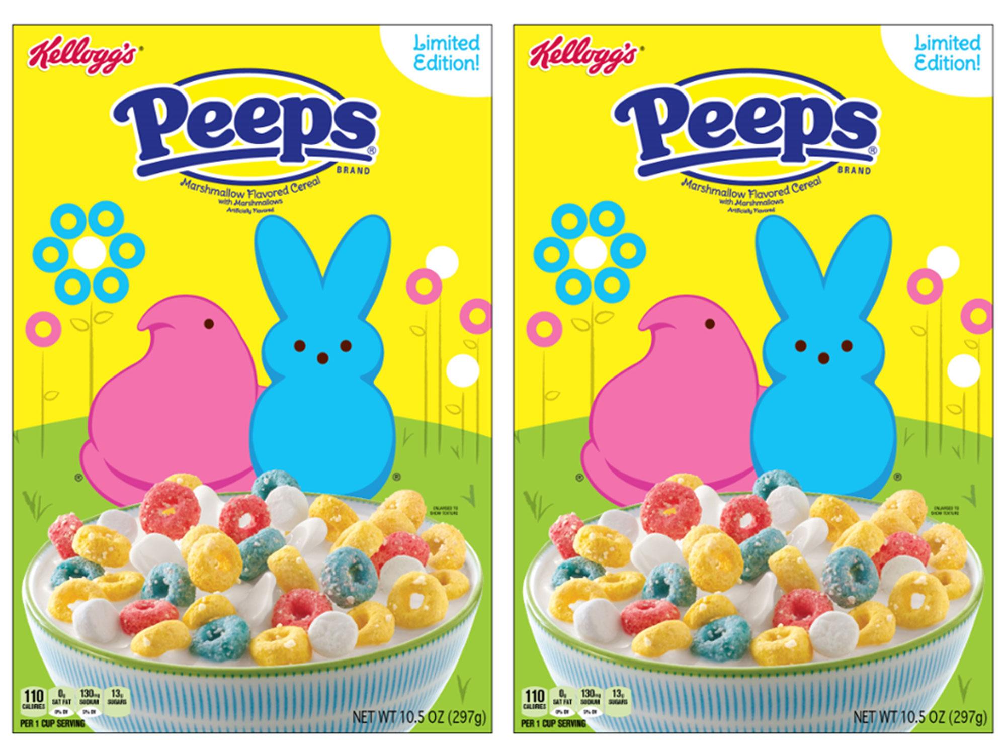Peeps Cereal Is the Ultimate Love-It-Or-Hate-It Breakfast