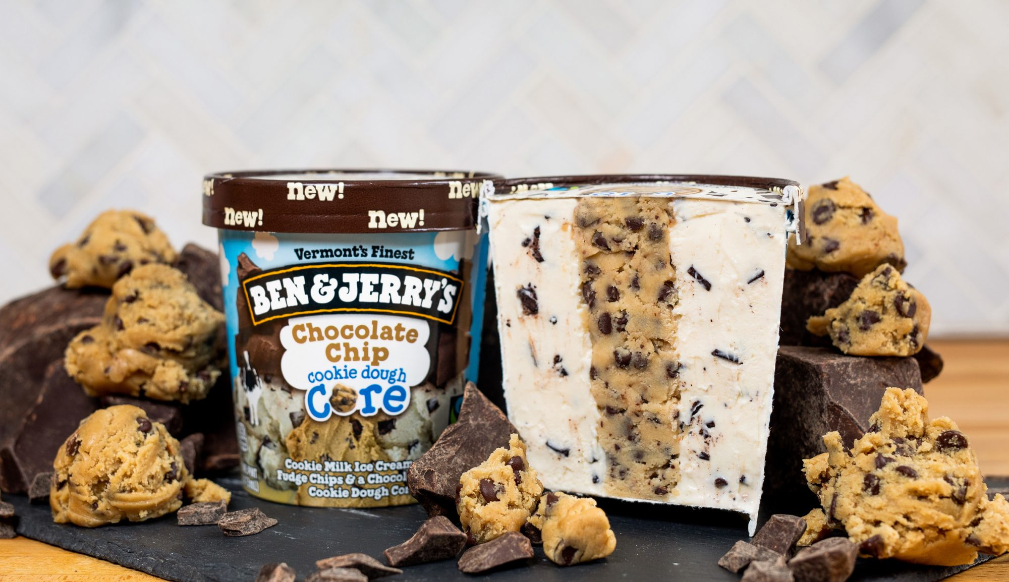Drop Everything, Ben & Jerry's Added New Cookie Dough Core Flavors
