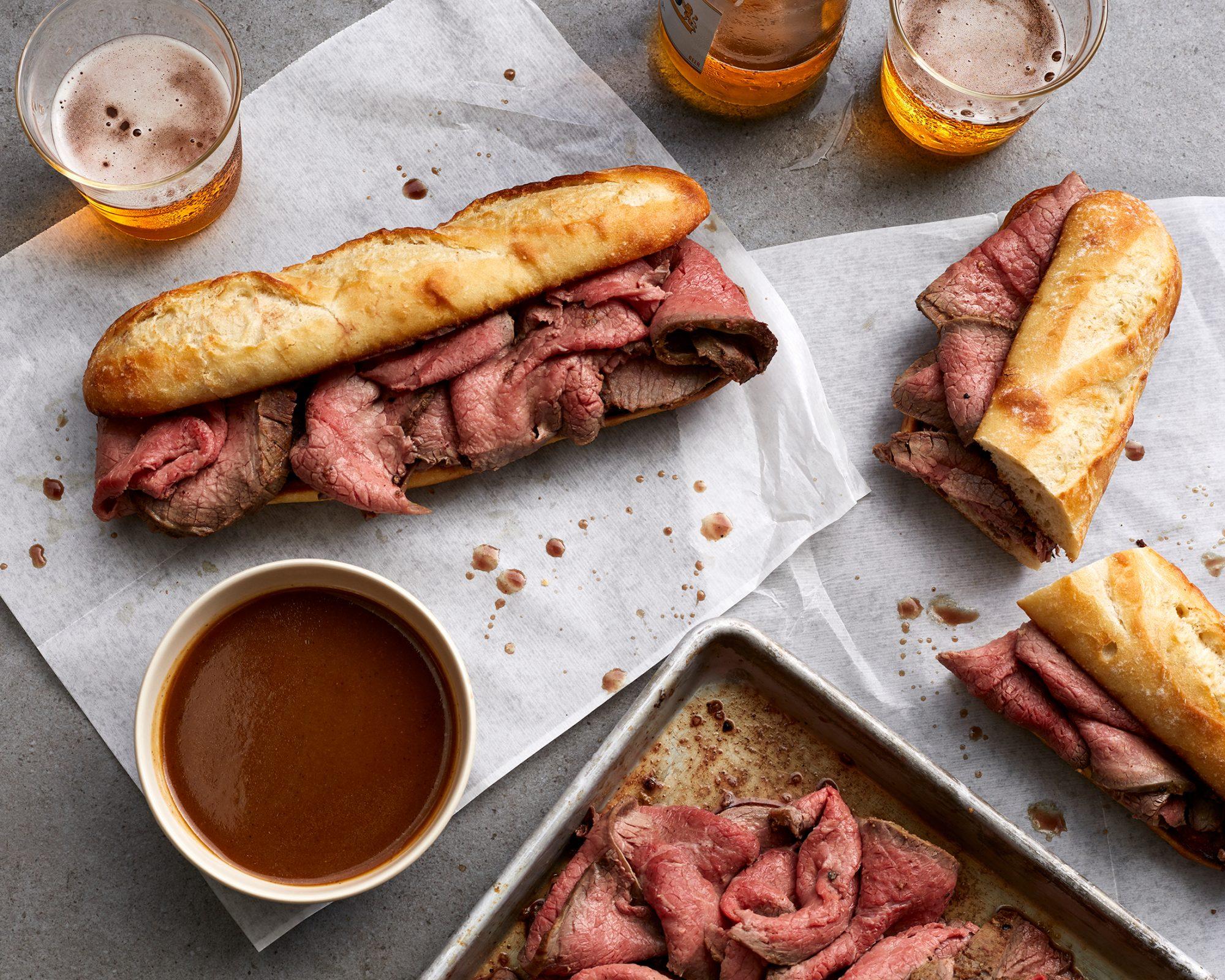 Instant Pot Eye-of-Round Roast Beef image