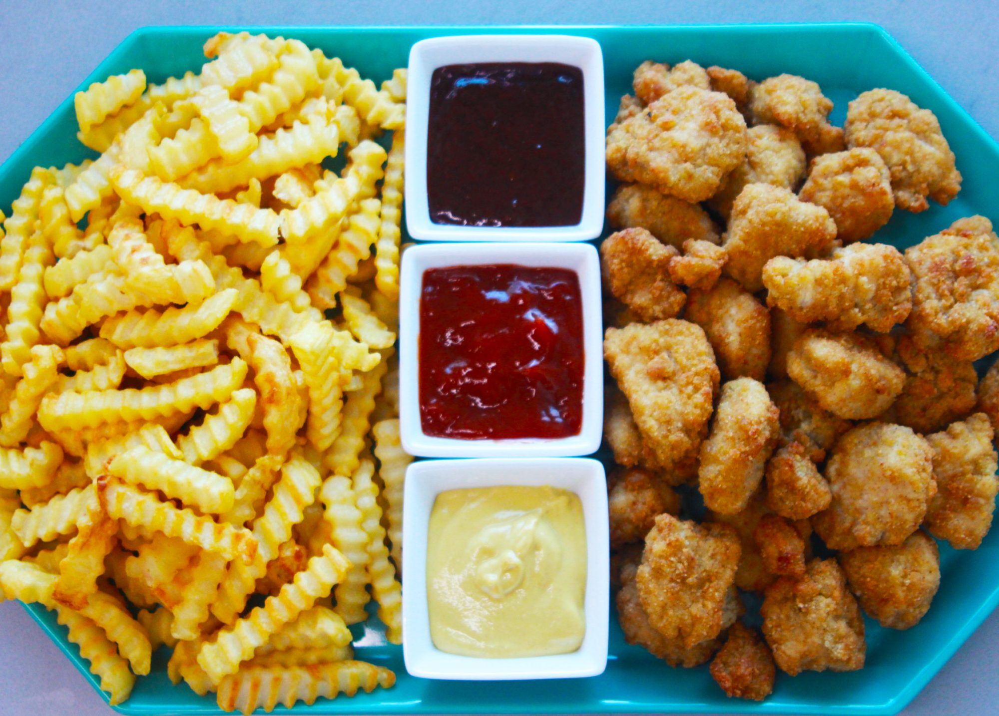 How to Stage the Chicken Nugget Tray of Your Dreams