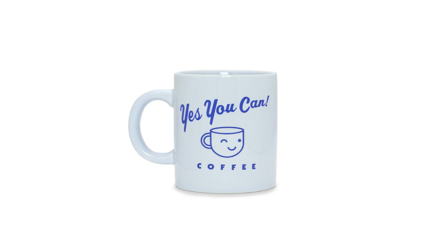 Hot Stuff Ceramic Mug - Yes You Can