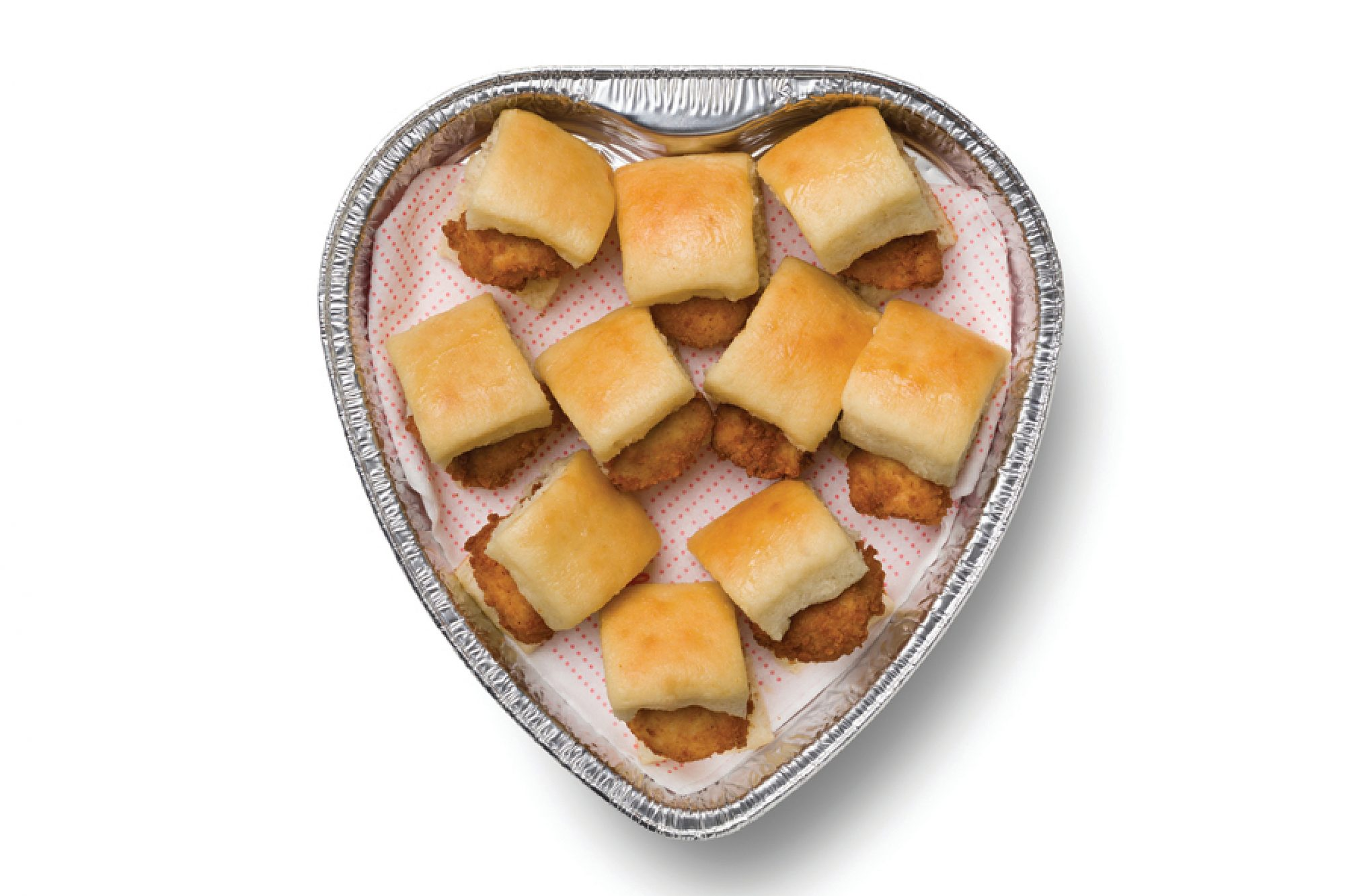 Chick-fil-A is Selling Heart-Shaped Trays of Nuggets and Chick-n-Minis This Valentine's Day chick-fil-a-valentines-3