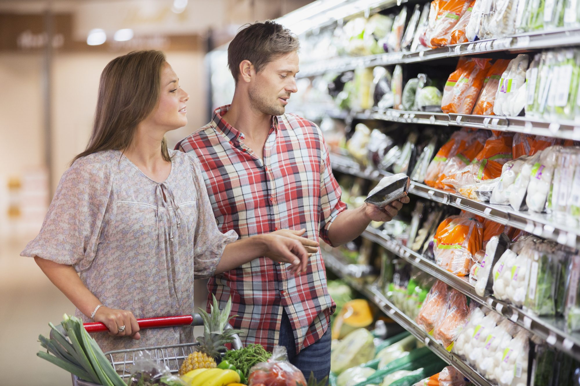 Why the Grocery Store Is the Perfect Spot for a Date