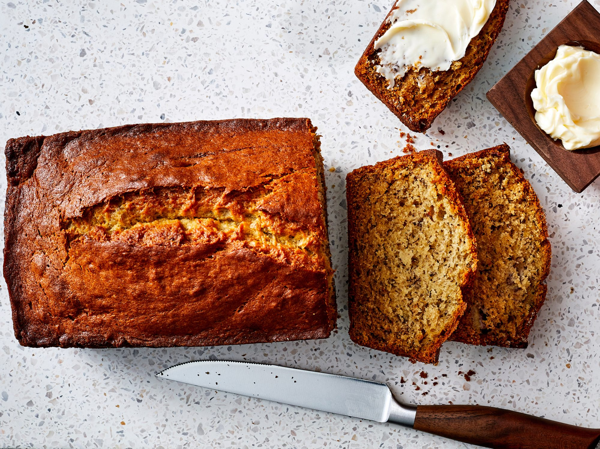 How to Make Banana Bread When Your Bananas Aren't Ripe Enough