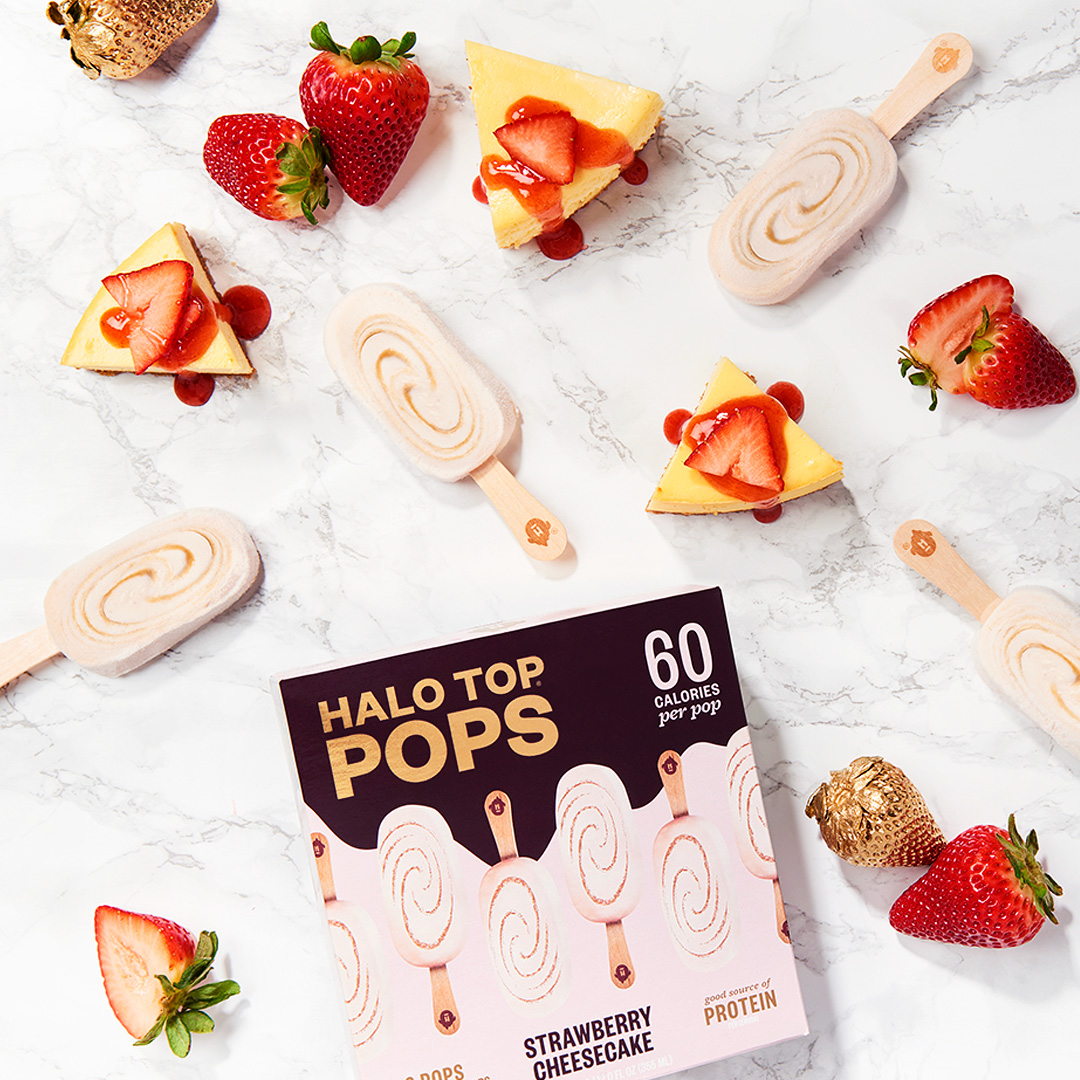 Halo Top Launches Snack-Sized Ice Cream Bars with Only 60 Calories Per Pop