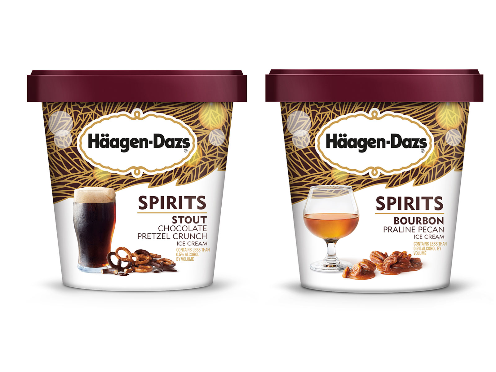 Häagen-Dazs Launches Six Booze-Infused Ice Cream Flavors