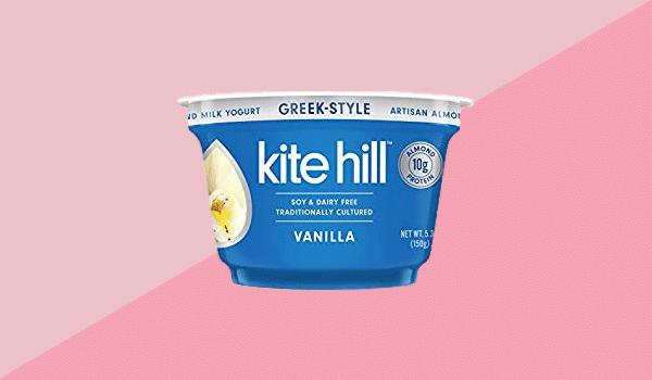 Kite Hill Greek-Style Vanilla Artisan Almond Milk Yogurt