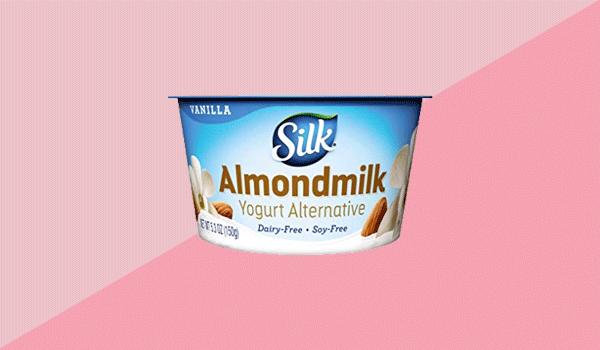 Silk Almond Dairy-Free Vanilla Yogurt Alternative