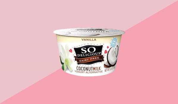 So Delicious Dairy Free Coconut Milk Vanilla Yogurt Alternative