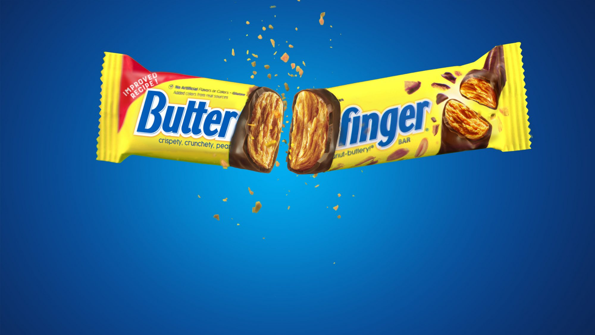 The 'New and Improved' Butterfingers Are On Shelves Now