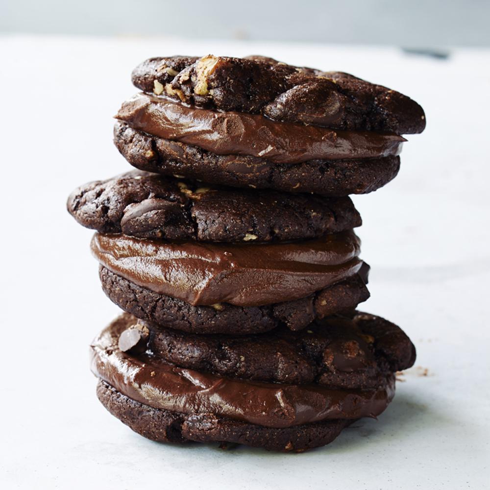 Triple-threat Chocolate CookiesRecipe