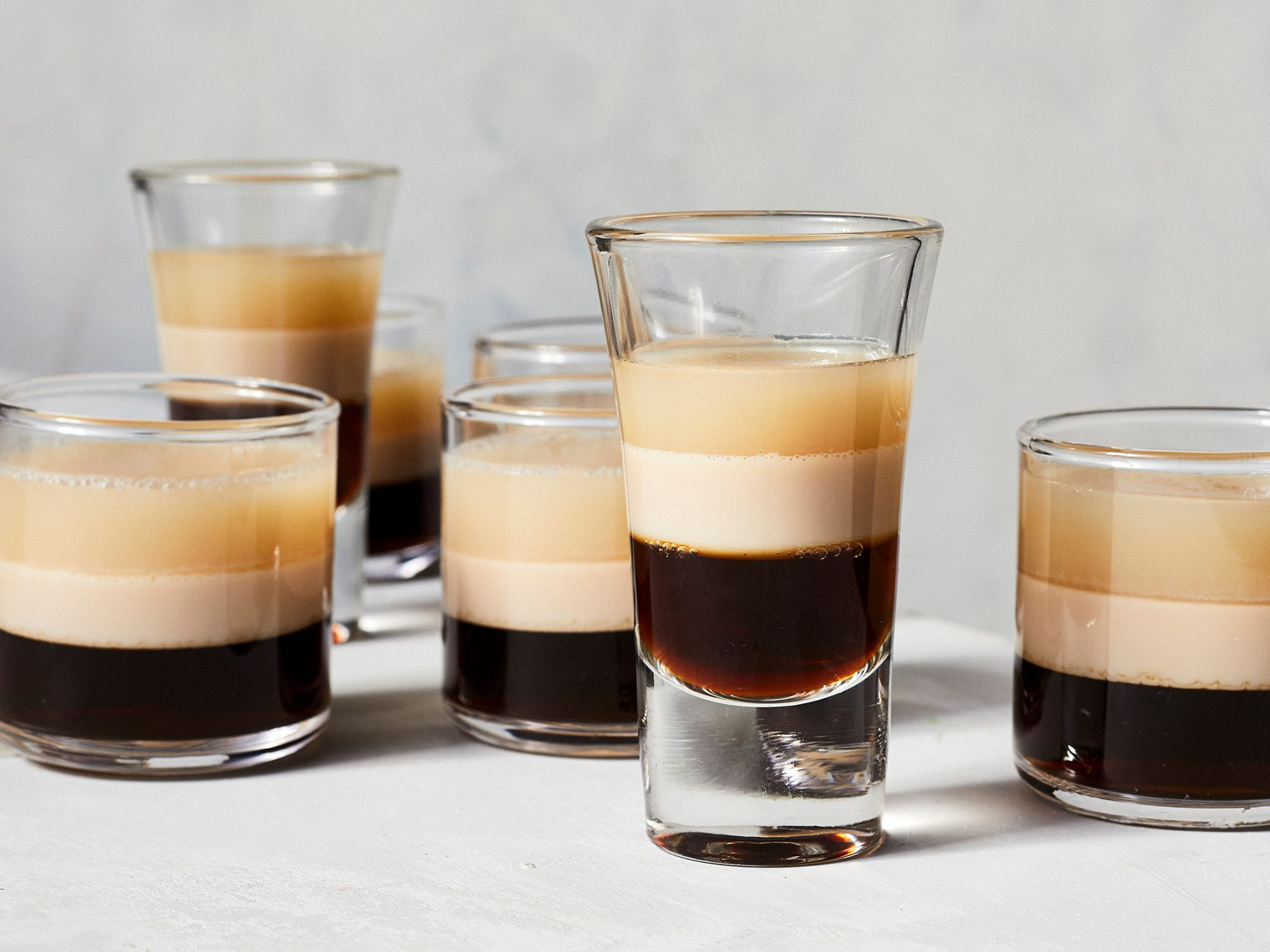 Irish Coffee Jell-O Shots