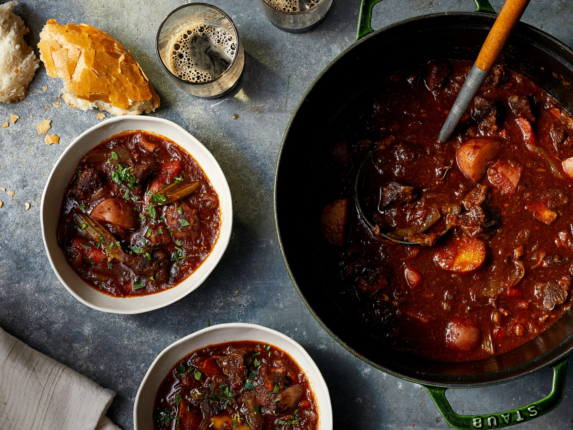 Irish Beef Stew with Guinness and Mustard image