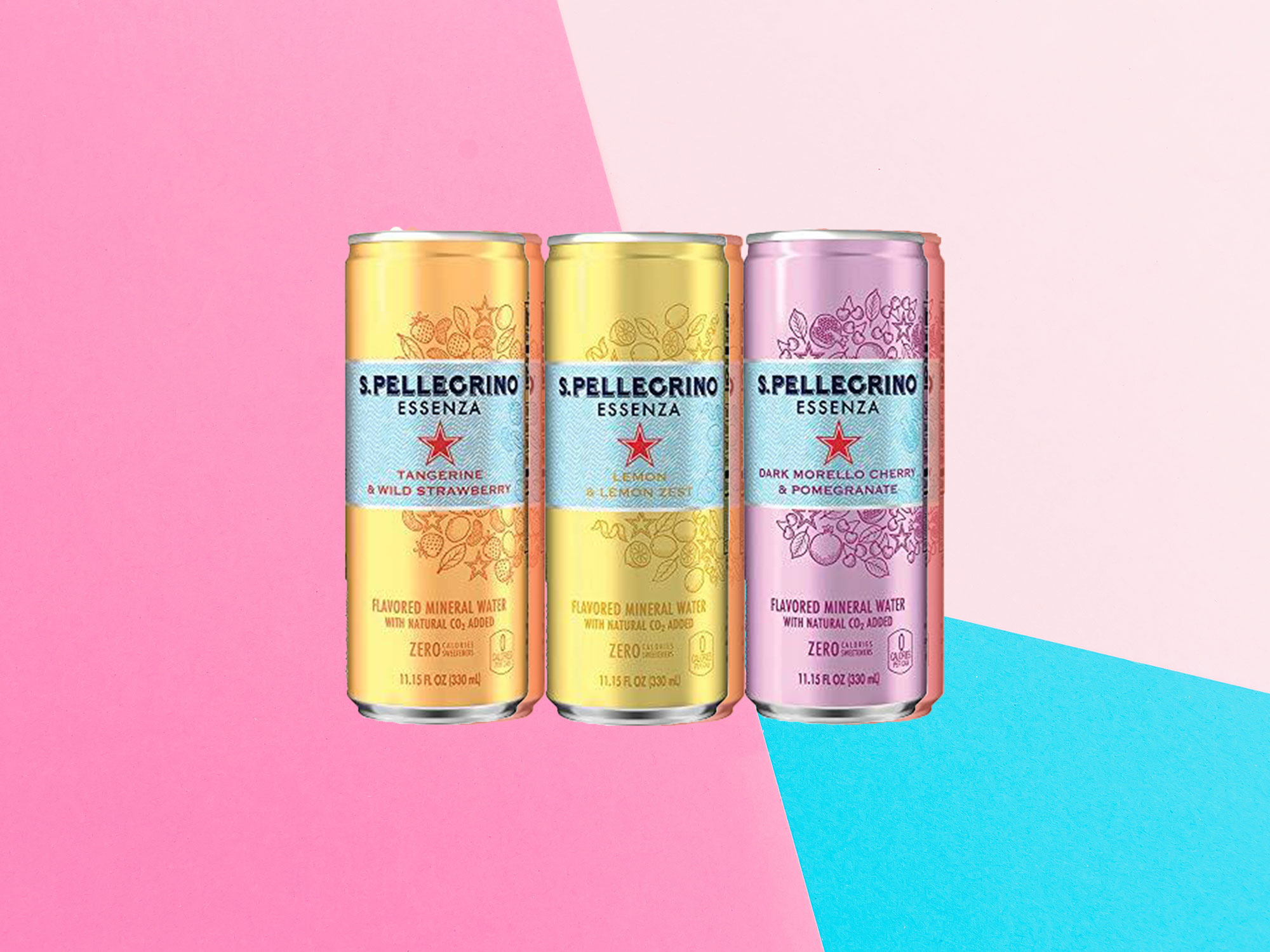 S.Pellegrino Introduces 3 New Flavors of Sparkling Water