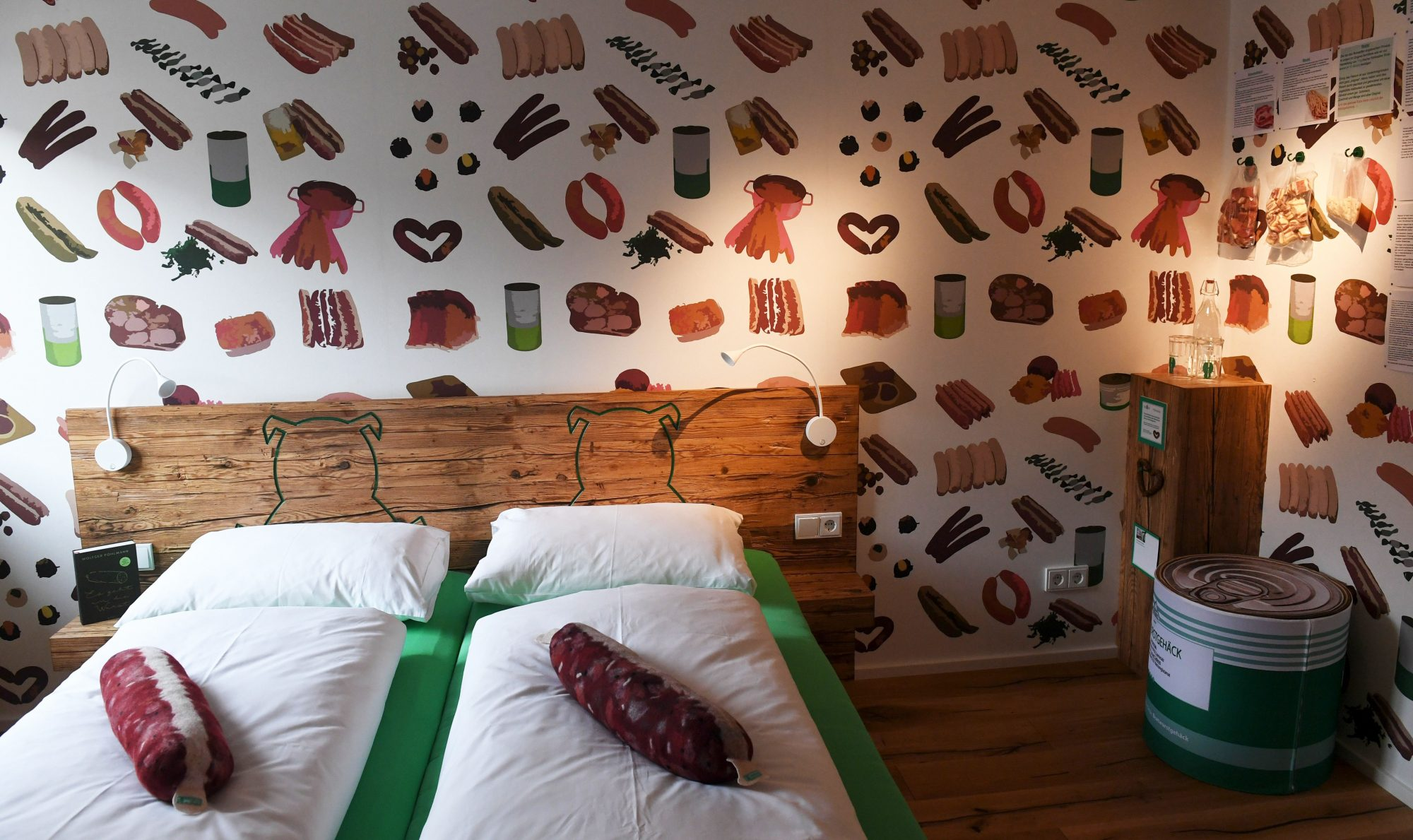 This German Sausage-Themed B&B Is a Celebration of Meat
