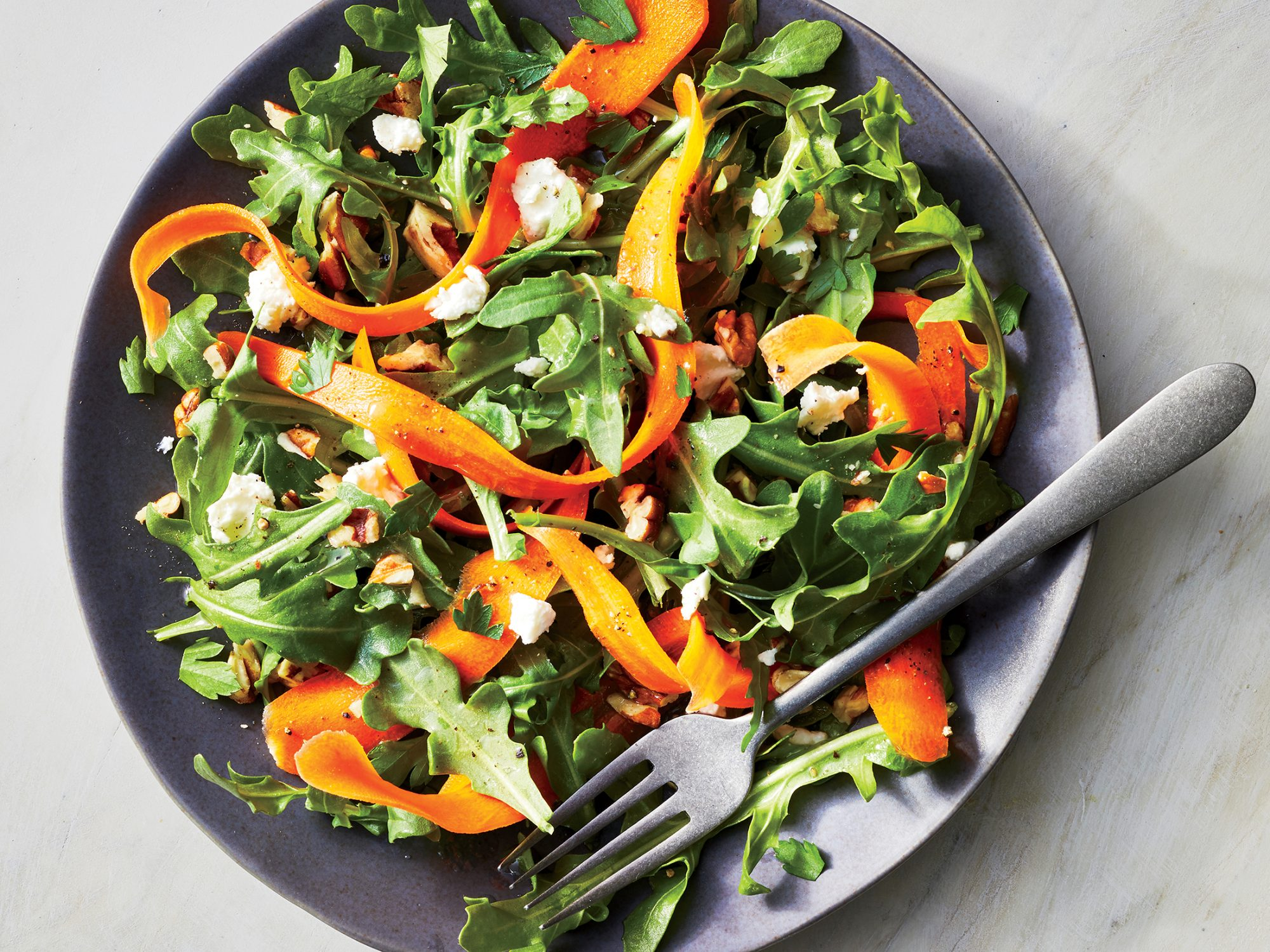 Carrot Ribbon Salad