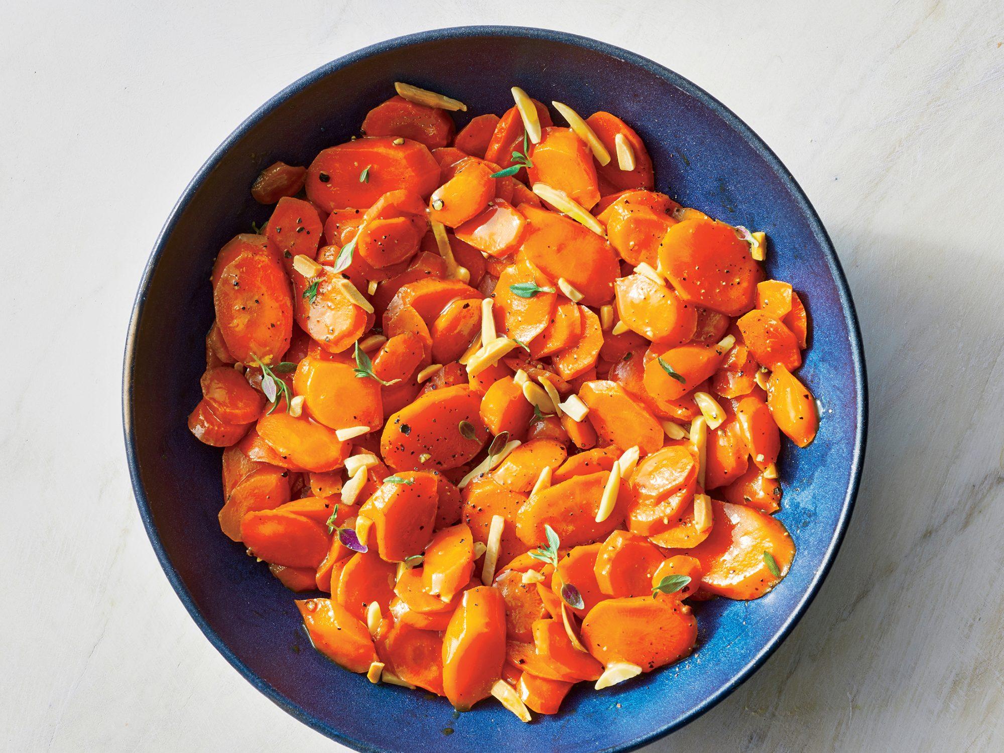Carrots Almondine