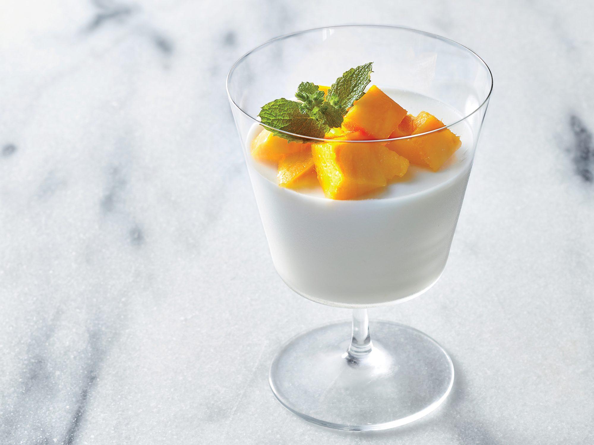 Coconut Milk Panna Cotta
