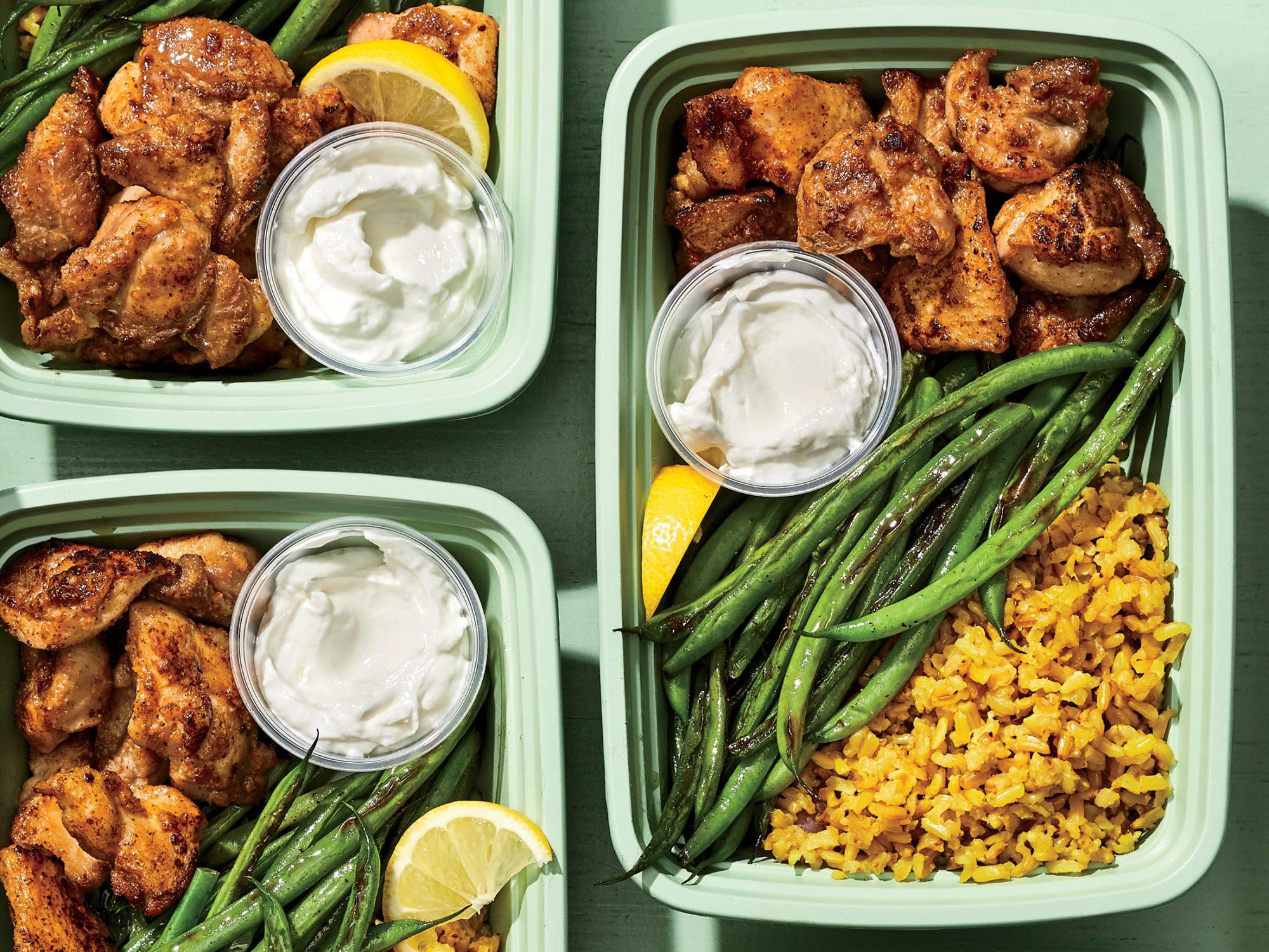 Coriander Chicken and Rice