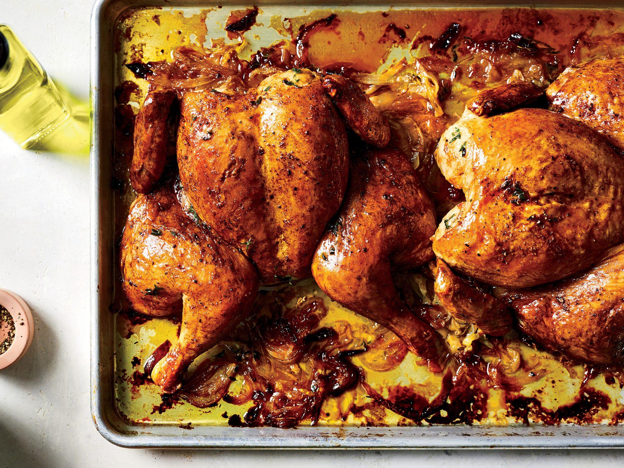 French Onion Roast Chicken